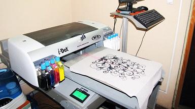 Принтер по тектилю